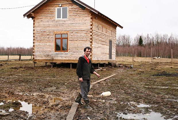 Исполняя мечты герой, русский, фермер