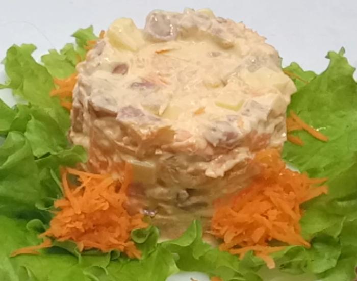 Три рецепта быстрых новогодних салатов Салаты на праздничный стол, Кулинария, Быстрые салаты, Видео, Длиннопост