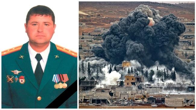 Погиб в Сирии военный советник капитан Николай Афанасов. 2017