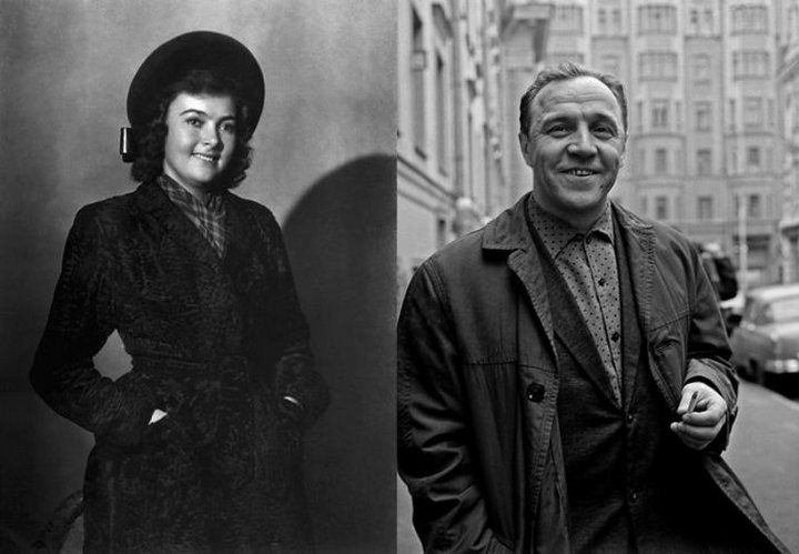 Алла Парфаньяк и Михаил Ульянов СССР, знаменитости, кино, супружеские пары, факты