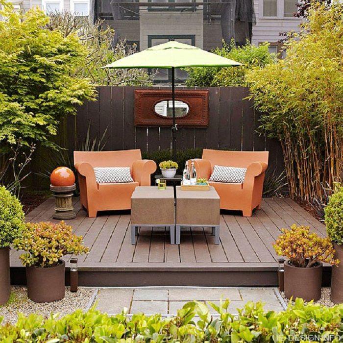 Идеи, как оформить место для отдыха на открытом воздухе
