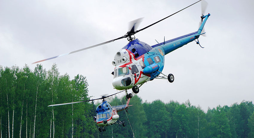 Чемпионат мира по вертолётному спорту стартовал в Белоруссии