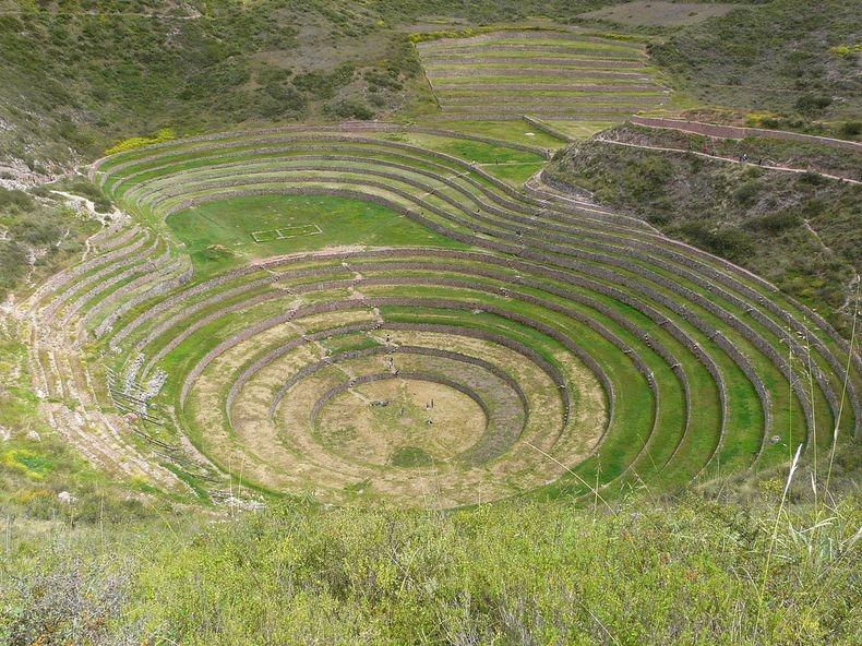 Terraces01 Мистические земледельческие террасы инков Морай