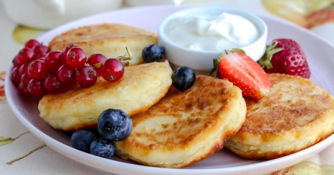 Сырники без яиц - вкуснейшее блюдо для полезного и сытного завтрака