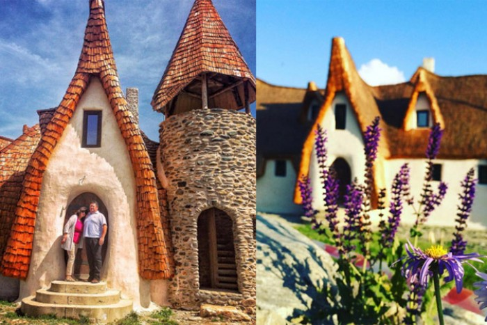 Пара из румынии построила удивительный домик для тех, кто верит в сказки
