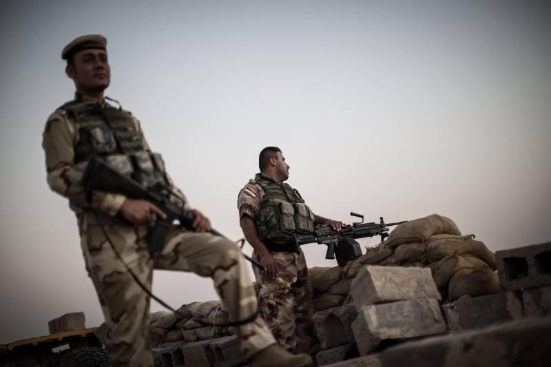 В ходе столкновений с иракской армией погибли 17 бойцов пешмерги