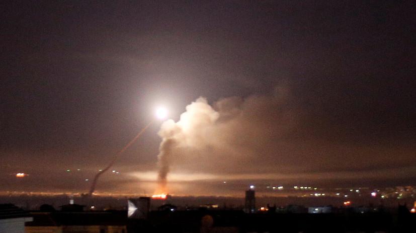 СМИ: ПВО Сирии отразила ракетную атаку Израиля
