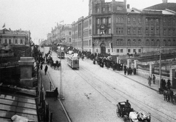 Крупнейшие города России на фото 100 лет назад