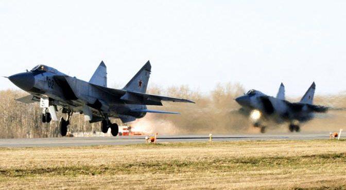 Россия разрывается между перехватчиками МиГ-31 и МиГ-41