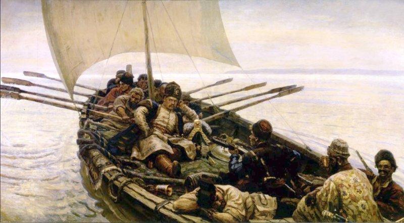 Морские походы запорожцев
