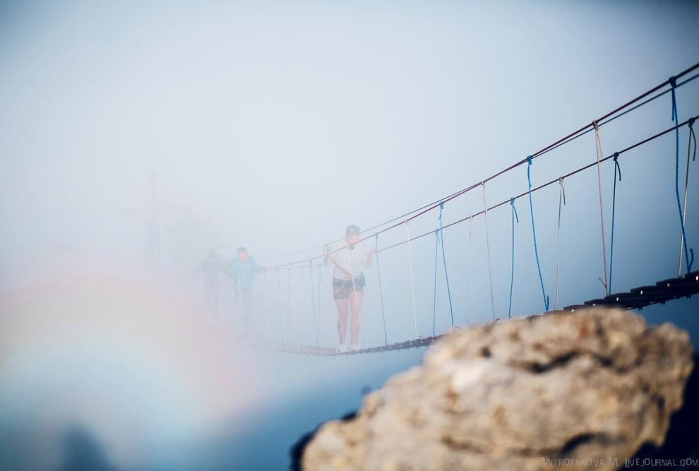 Испытать себя на подвесных мостах Ай-Петри