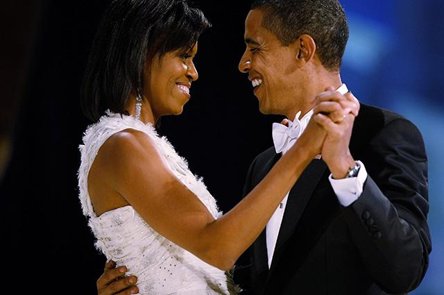 Барак и Мишель Обама зажигат…