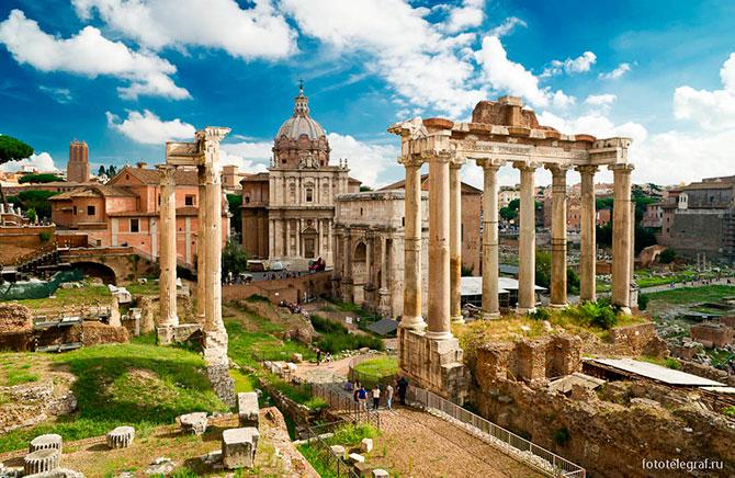 Прогулки по Римскому форуму и Палатину