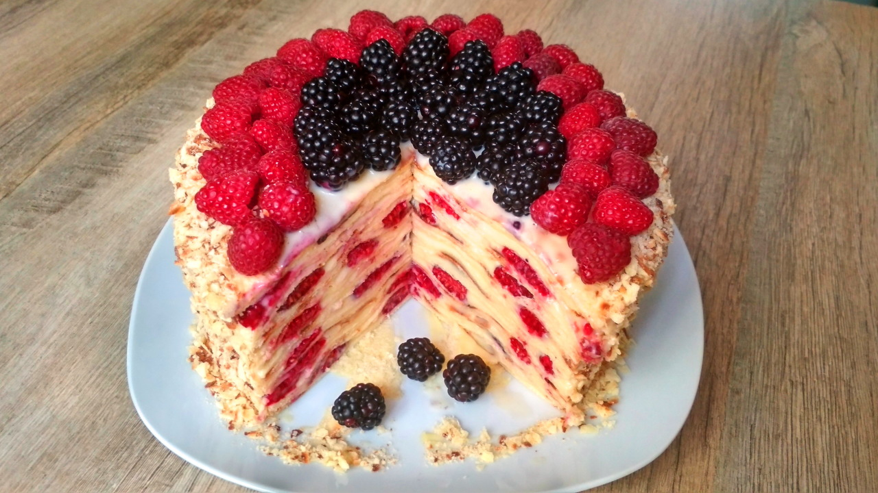 Торт на сковороде. Нереально…
