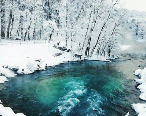 Красный Ключ — самый мощный водный источник России и второй в мире