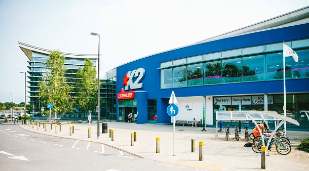 K2 Crawley, Кроули, Англия
