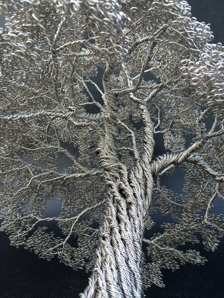 скульптуры деревьев из проволоки клайв мэдиссон (9)