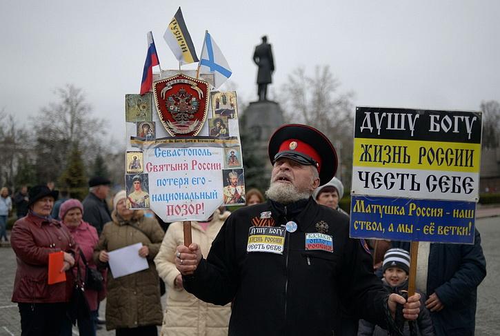 В Москве назвали ключевой задачей отстаивание российского статуса Крыма