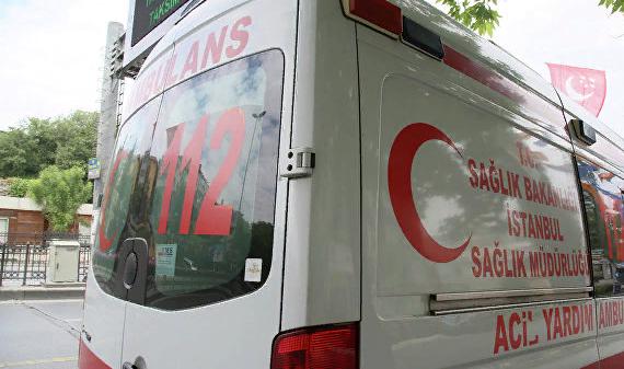 В Турции автобус с российскими туристами попал в ДТП
