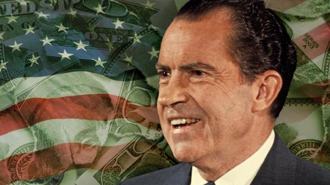 Как в 1971 году Никсон превратил деньги в фантики