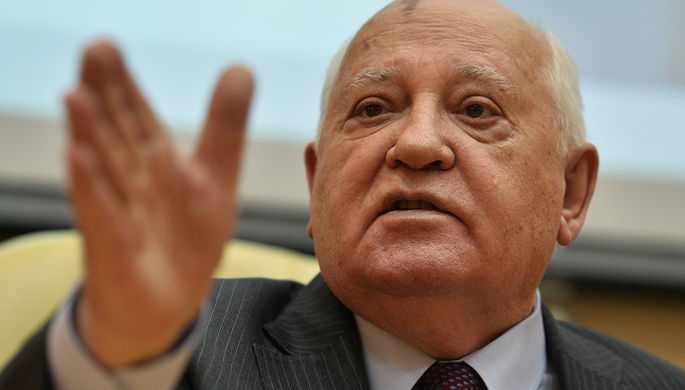 Горбачев отказался уезжать на Запад