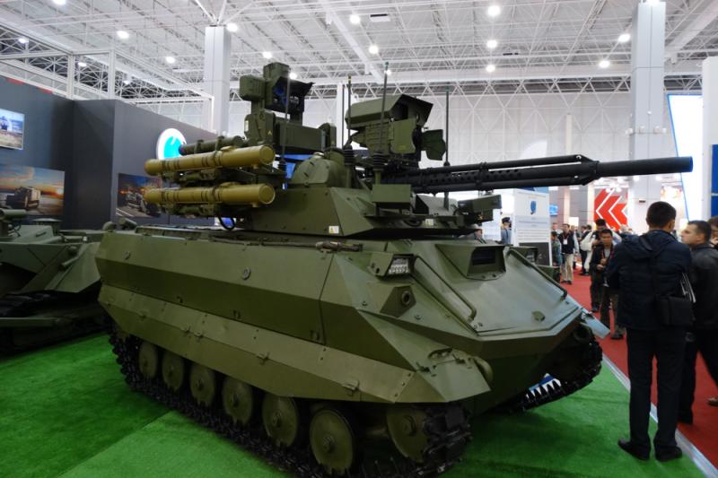 Русский «Уран-9» не оставит шансов врагу