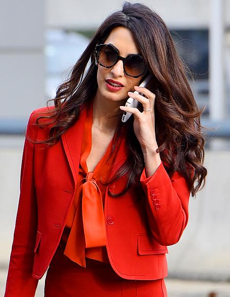 Стиль и женственность — 7 секретов идеального делового гардероба от Амаль Клуни