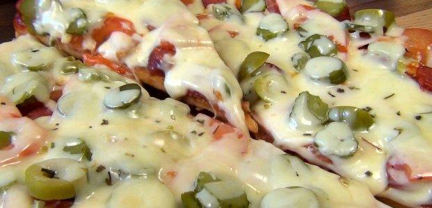 Пицца на сковороде за 10 минут – 5 рецептов
