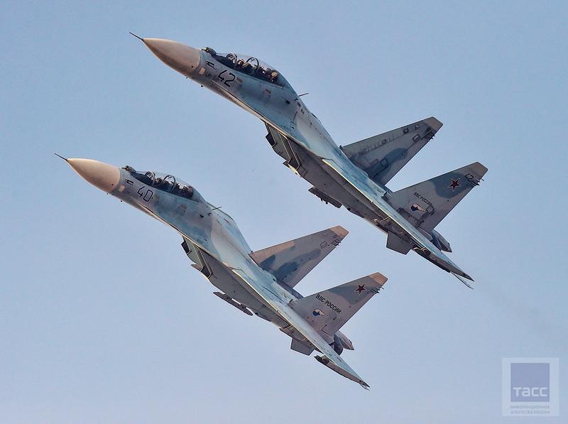 Российско-индийские экипажи впервые в истории ВКС России поднялись в небо