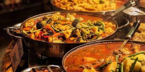 Little Big, индийская кухня …