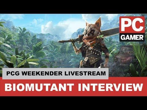 Biomutant Developer Interview - PC Gamer Weekender 2018 Live Stream