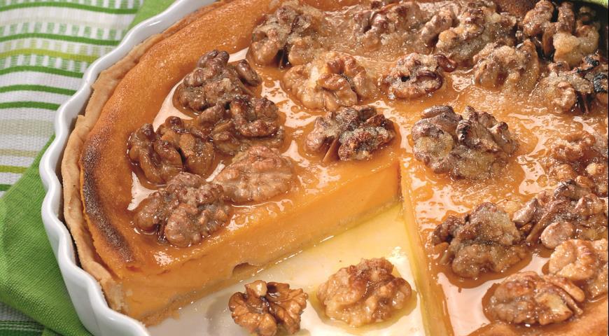 ДЕСЕРТНЫЙ ВИХРЬ. Американский тыквенный пирог: оригинальный рецепт