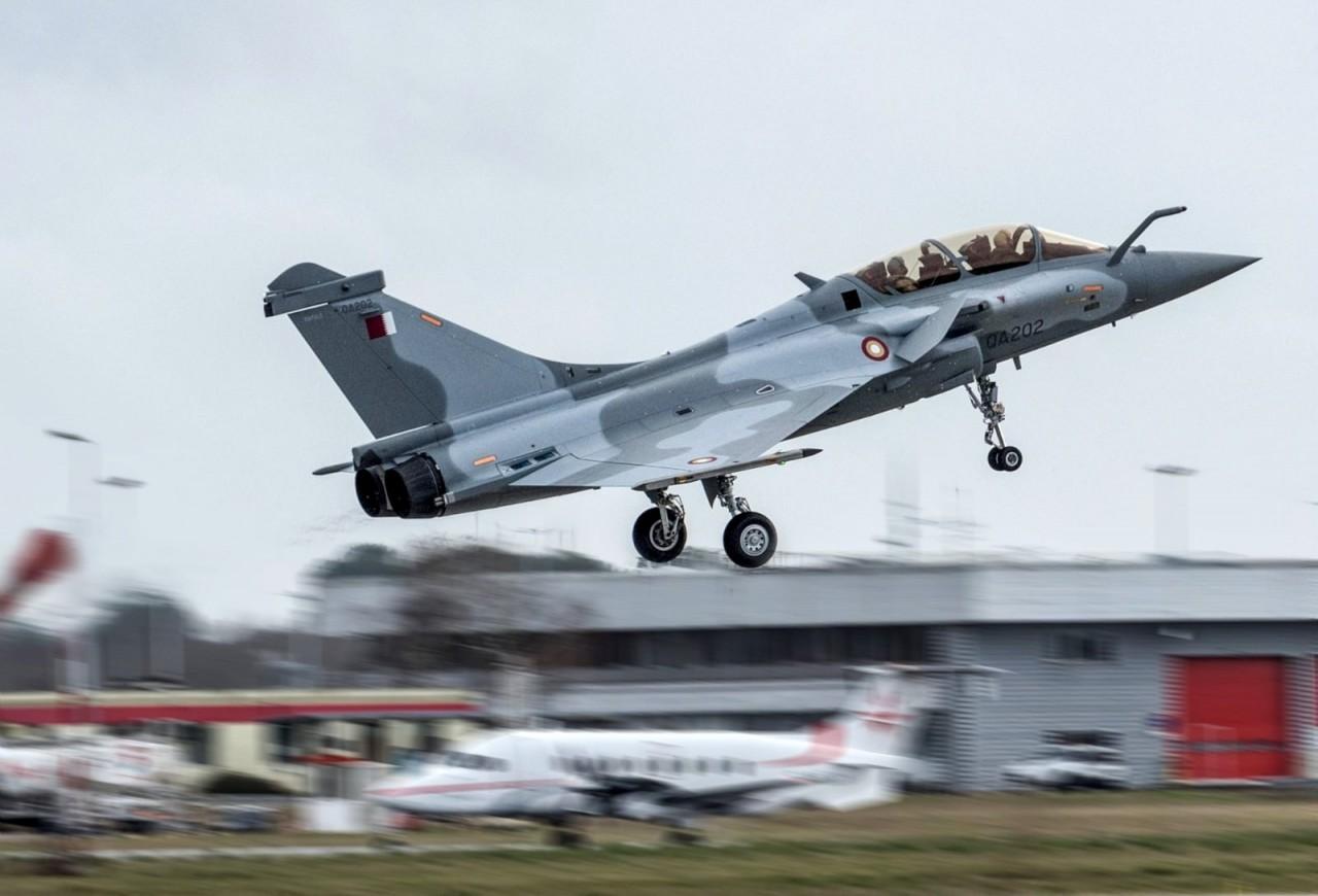 Катар получил первый истребитель Rafale