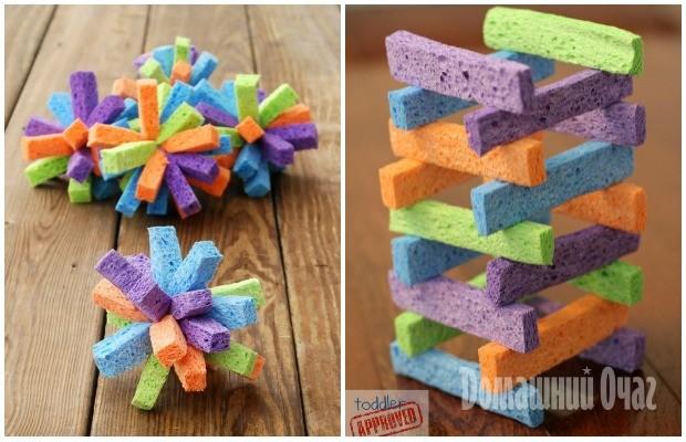 Как сделать губки для игрушек 52