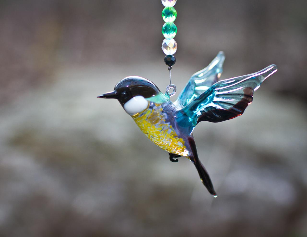 Птицы из стекла. Хрупкое, но удивительно красивое творчество!
