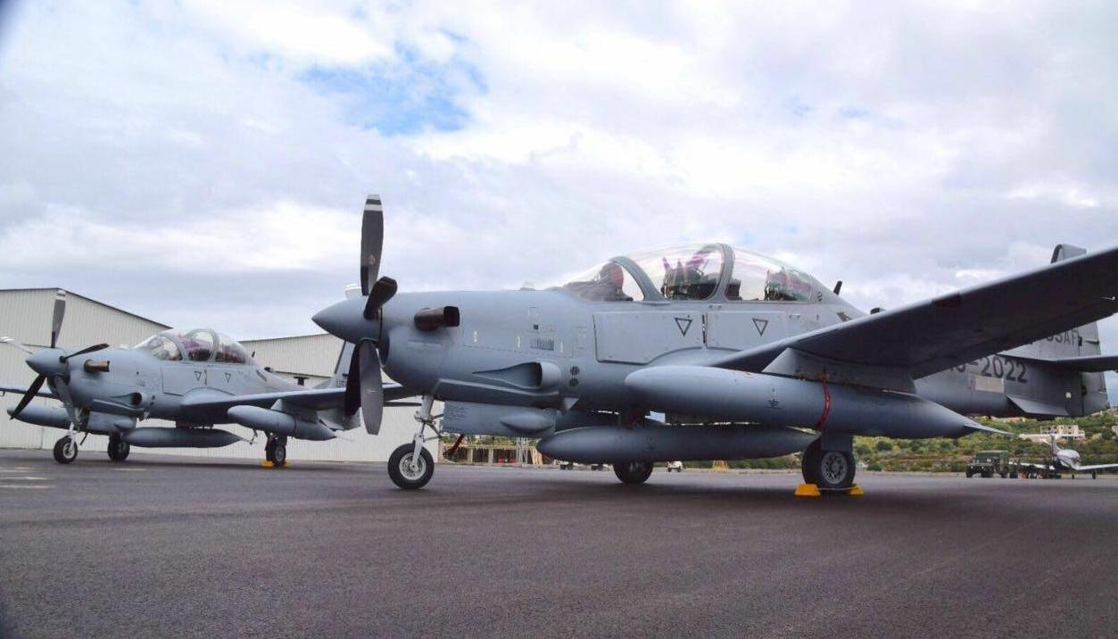 Ливан получил из США первые два самолета Super Tucano