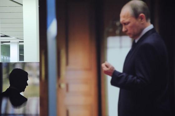 Одобрение деятельности Путин…