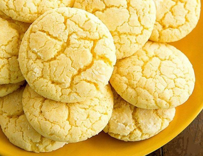 Нежное лимонное печенье на кефире. Просто тает во рту