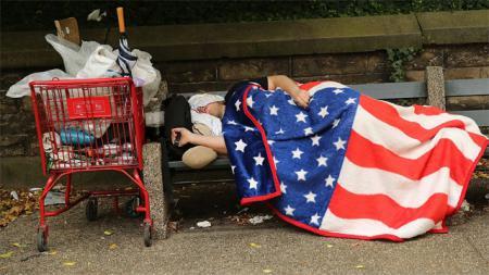 Безэтажная Америка: Как трудоголики из корпораций превращаются в бомжей