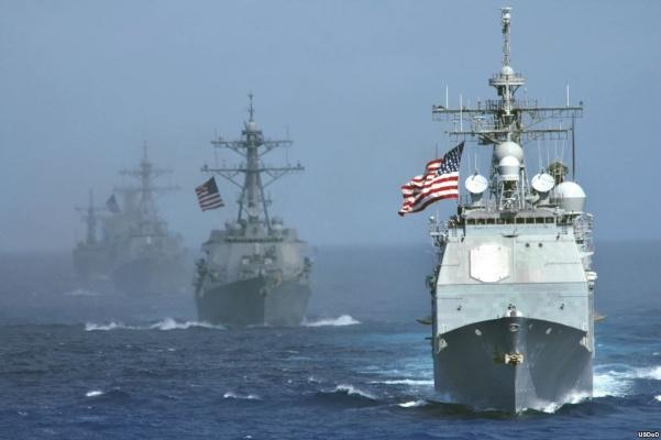 Корабли НАТО окружают Сирию:…
