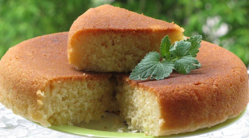 Очень вкусный десерт — манник на кефире