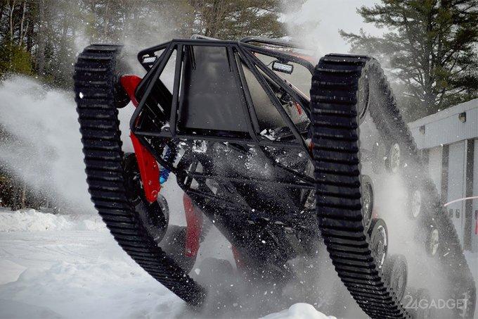 Ripsaw EV3-F1 — самая несносная машина!