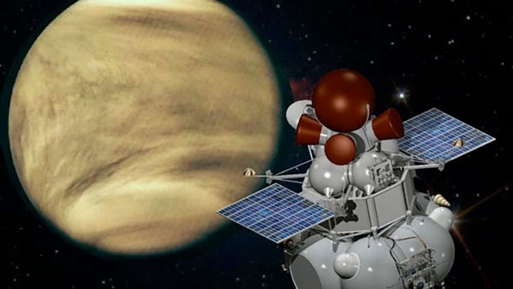 Астрономы нашли в атмосфере Венеры загадочную спираль
