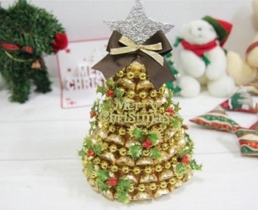 Мастер класс по новогодней елки из конфет