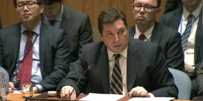 Глаза-то не отводи: представитель России в ООН поставил британского дипломата на место