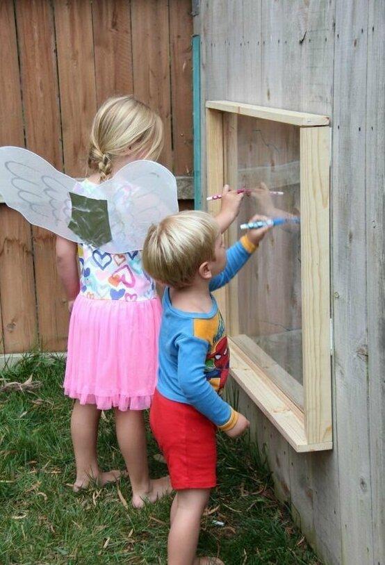 По стеклу маркерами - легко! Фабрика идей, гениально, дети, занятие, интересное, родители, увлечение