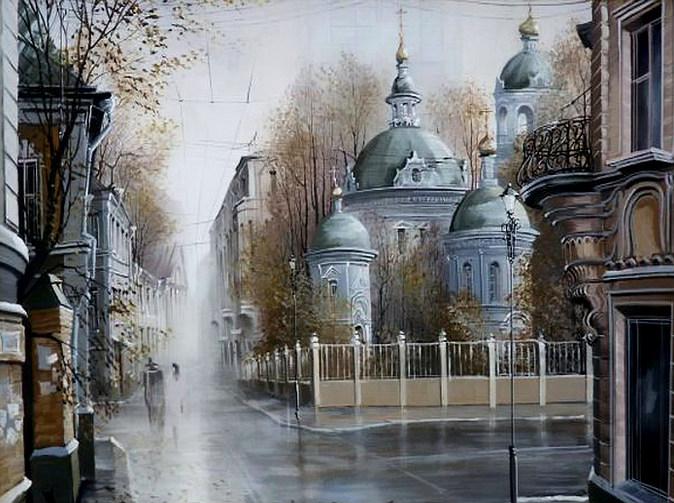 Старая Москва в творчестве Александра Стародубова