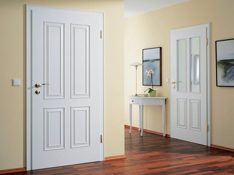 Двери белого цвета в интерьере фото