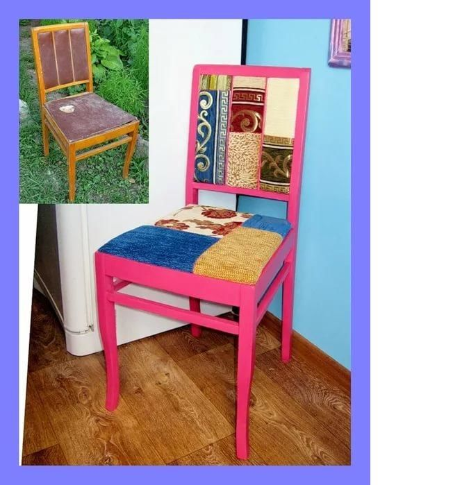 Обновить старый стул