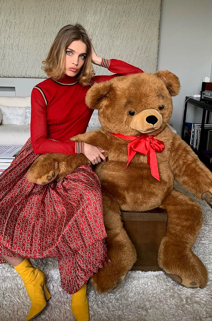 Наталья Водянова опубликовала нежные фото с повзрослевшим 17-летним сыном
